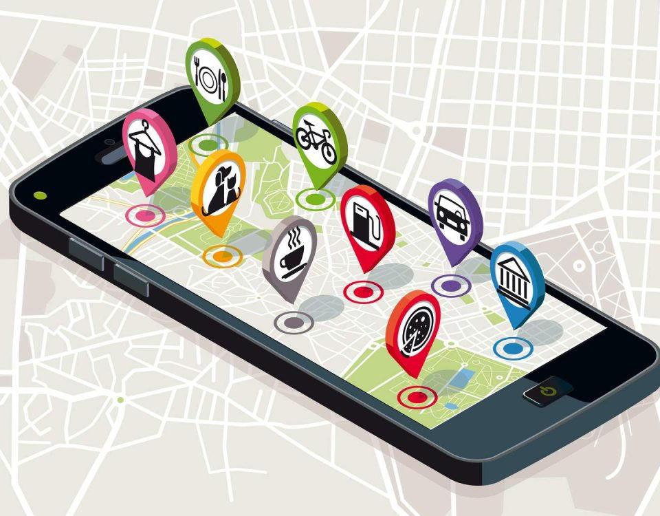 Pozycjonowanie lokalne, mapy Google